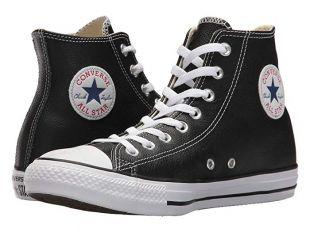 Converse Chuck Taylor® All Star® Leather Hi | Zappos.com