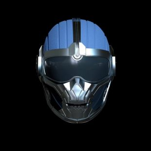 Taskmaster Helmet - Black Widow Movie Version