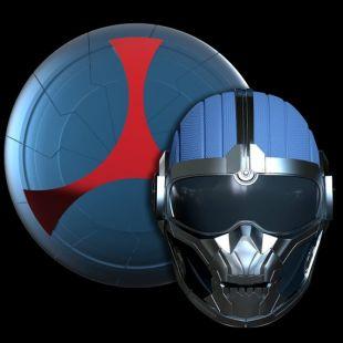 Taskmaster Helmet & Shield Combo - Black Widow Movie Version