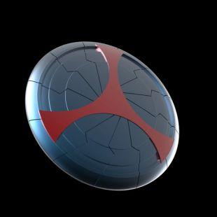 Taskmaster Shield - Black Widow Movie Version