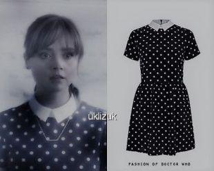 River Island Cosplay  Polka Dot Spot Spotted Celebrity Dress - Size 6
