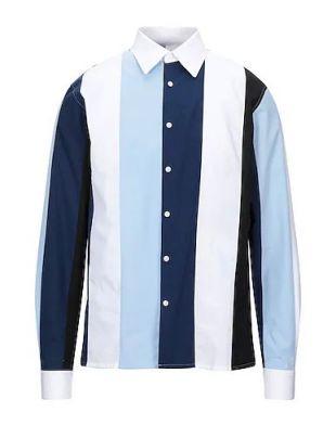 SANDRO Striped shirt - Shirts   YOOX.COM