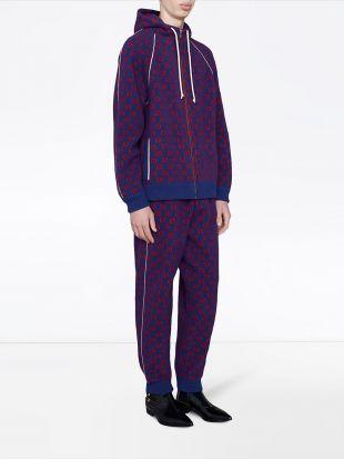 Gucci Pantalon De Jogging à Motif Monogrammé - Farfetch
