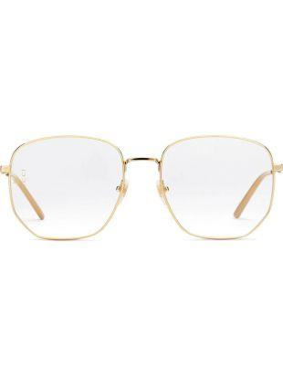 Eyewear Rectangular-frame Metal Glasses