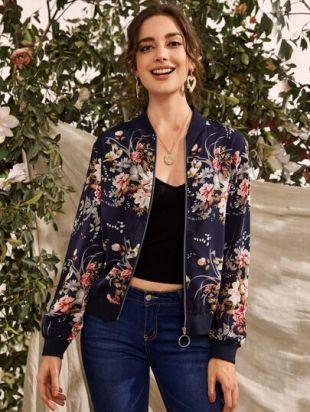 Floral Cardigan Jacket