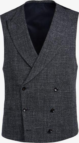 Gilet Gris Foncé W190112   Suitsupply Online Store