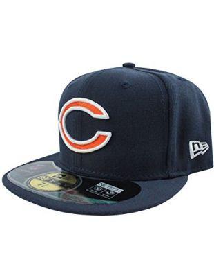 New Era 59Fifty NFL Chicago Bears C Logo GSH Cap Blue