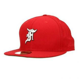Fear of God Fifth Collection New Era Cap Roo Embroidery 7 5/8 Red    eBay