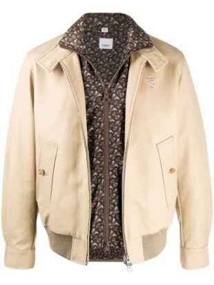 Burberry detachable warmer Harrington jacket