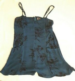 Doctor Who Clara Oswald Cosplay Playsuit Urban Outfitters Sparkle & Fade Size XS