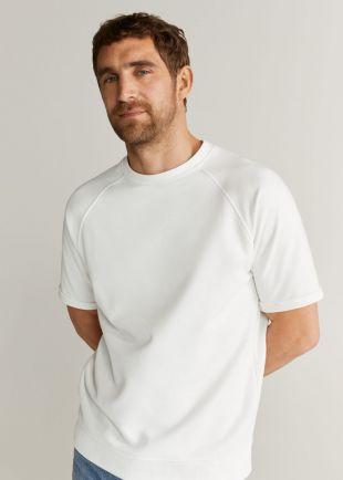 T-shirt oversize coton