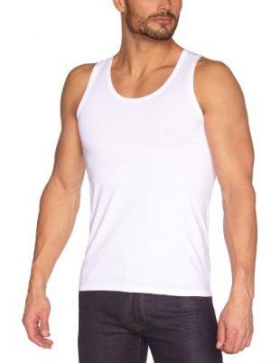 Eminence - Iconique - Débardeur - Uni - Homme - Blanc - FR : Medium (Taille fabricant : 3)