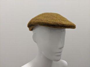 Vintage Scottish Men's Wool Tweed Flat Cap Tweed Cap Tweed Hat Flat Hat Newsboy Cap Newsboy Hat Hat Scottish Highlands vintage Kilt