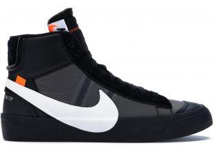 Les sneakers Off White x Nike noires portées par Kevin Guedj