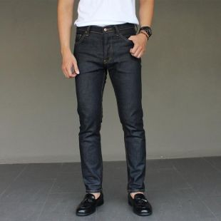 Hommes Jeans Dark Blue Japan Style Taille 28-36