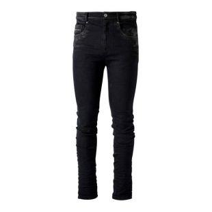Nicks - Jean skinny noir en denim stretch