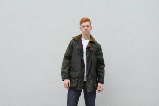 Veste cirée Men Parka.80's HENRY LLOYD Olive Green Hunter Field Jacket Outerwear Thick Waterproof Traditional Coat Jacket Menswear,Size M