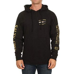 Salty Crew Bruce Fleece - Black - Large