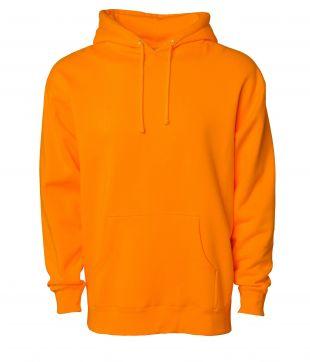 Prison Orange Oversized Cotton Ringspun Hoodie Jumper