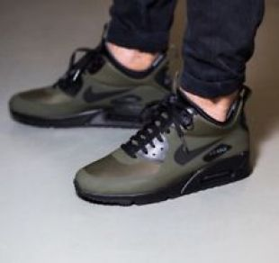 Shoes Nike Air Max 90 Mid Winter green in the clip Eurotrap
