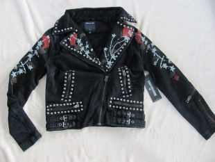 Neiman Marcus Leather Jacket worn by Calamity (Ruby Rose) in