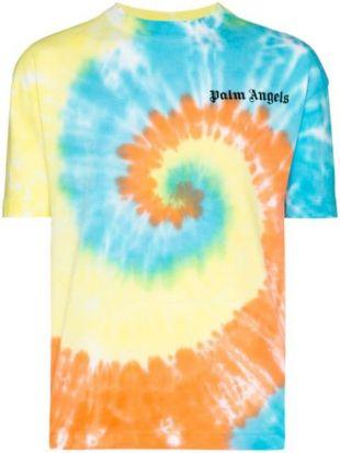 t-shirt à Imprimé tie-dye