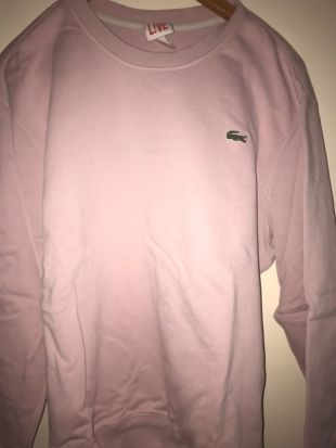 Pull lacoste rose