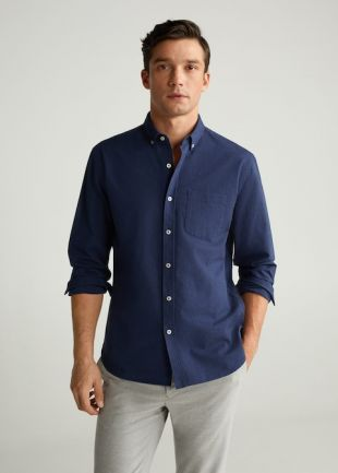 Chemise regular-fit coton oxford
