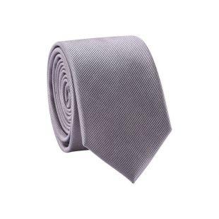 Cravate unie 100% soie