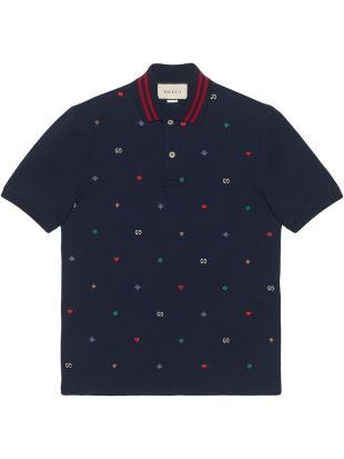 Gucci Polo à Détails Brodés