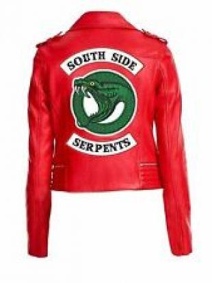 Riverdale SouthSide Serpents Madelaine Petsch Cheryl Blossom Femmes Veste Rouge | eBay
