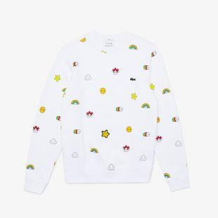 Sweatshirt unisexe à motifs Lacoste x FriendsWithYou