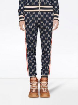 Gucci Pantalon De Jogging à Motif Suprême GG