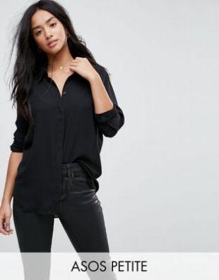Chemise douce à manches longues