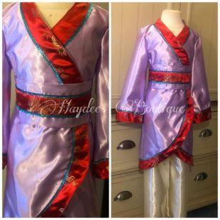 Kimono Dress Set Mulan Inspiré