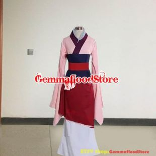 Princesse Hua MuLan Cosplay Costume Princesse Hua Mulan Robe Hua Mulan Costume