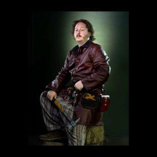 Handsewn Long Leather Buckled Coat - Choisissez la couleur - Rouge, Vert, Bleu, Noir, Brown - Fantaisie médiévale
