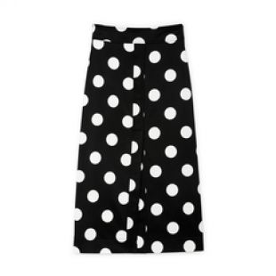 Danielson A-Line Polka-Dot Skirt