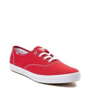 Keds Femme Champion Originals Casual Sneakers, Rouge à Lacets Chaussures de Tennis    eBay