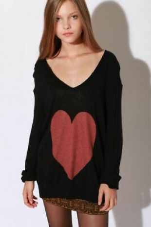 Wildfox couture Femme Queen Of Hearts Pull en Noir Taille S    eBay