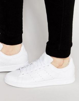 Footwear Adidas Originals Stan Smith white in the clip The