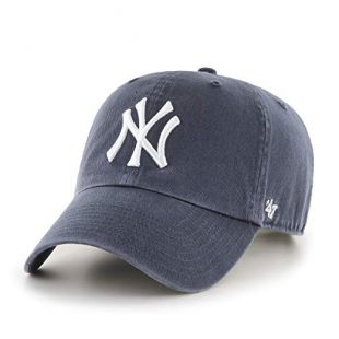 47 MLB New York Yankees CLEAN UP Cap – Cotton Twill Unisex Baseball Cap Premium Quality Design and Craftsmanship by Generational Family Sportswear Brand