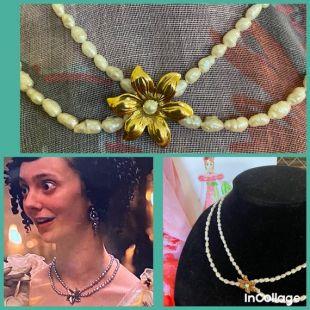Mrs Elton's pearls