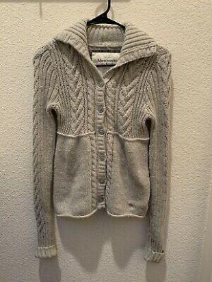 ASO Bella Swan Abercrombie Cardigan Size Medium    eBay