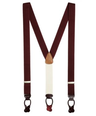 Extra-Long Solid Suspenders