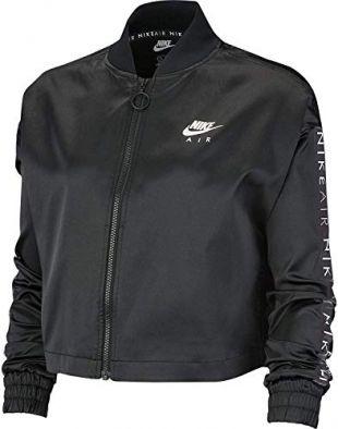 NIKE Nsw Air Trak Satin Jacket Women's Jacket - Black