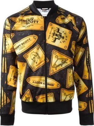 Jacket Adidas Originals by Jeremy Scott Eggsy (Taron Egerton
