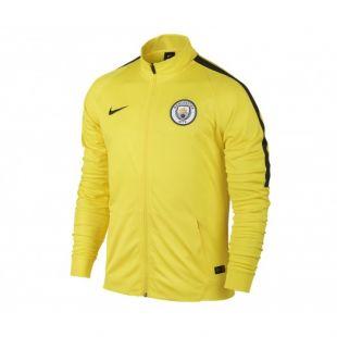 Veste Entraînement Manchester City Jaune | Footcenter