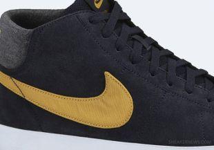 Nike Blazer Mid LR Dark Obsidian Zac Efron in Our worst