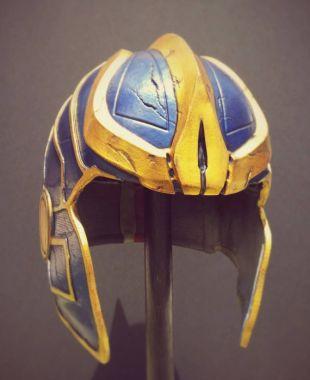 MCU Thanos inspiré Prop portable Cosplay collection casque luxe Rare